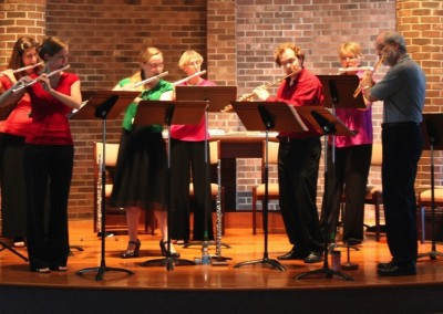 Flutes on Fourth at Shallowford Presbyterian Church